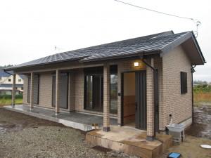 レンガを使用した洋風住宅 栃木県 矢板市 鈴木様邸