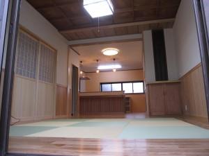 ダイニングリフォーム 栃木県 那須塩原市 自宅 施工後